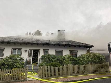 Dachstuhlbrand am 29. Dezember 2017