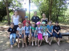 Gruppenfoto der Kinderfeuerwehr Oberjosbach