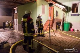 Kellerbrand Königssteiner Straße Februar 2018