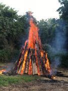 Das große Oberjosbacher Johannisfeuer